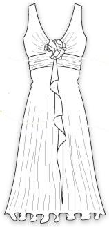 Выкройка рукав в греческом стиле