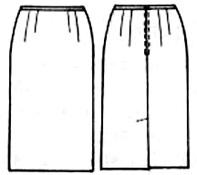 Шитье платья с сборкой