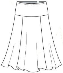 Шьем юбку для девочки для начинающих 123